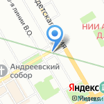 Камараджа на карте Санкт-Петербурга