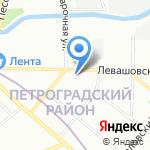 Отдел ГИБДД на карте Санкт-Петербурга