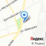 Автофото на карте Санкт-Петербурга