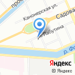 Агентство занятости населения Адмиралтейского района на карте Санкт-Петербурга
