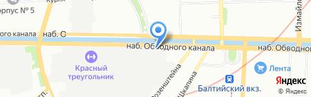 MarioShop на карте Санкт-Петербурга