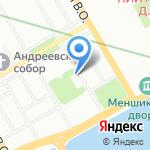 Научный архив на карте Санкт-Петербурга