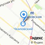 Клин хаус на карте Санкт-Петербурга