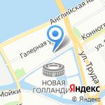 Средняя общеобразовательная школа №238 с углубленным изучением английского языка на карте Санкт-Петербурга