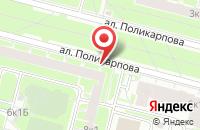 Схема проезда до компании Марта в Санкт-Петербурге