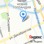 Додзе Хатсуген на карте Санкт-Петербурга