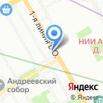 Сатисъ на карте Санкт-Петербурга