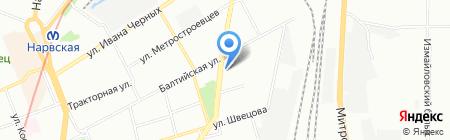 Транс Карго Экспресс на карте Санкт-Петербурга
