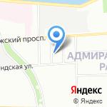 Харрис Групп Интернейшенл Проектирование и Строительство на карте Санкт-Петербурга