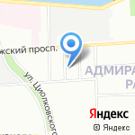 АУДИТ-СВК на карте Санкт-Петербурга
