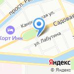Дезинфектор на карте Санкт-Петербурга