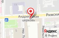 Схема проезда до компании Тест-Принт в Санкт-Петербурге