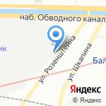 Агентство эффективных технологий на карте Санкт-Петербурга