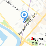 Max & Martis на карте Санкт-Петербурга