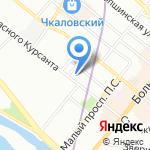 Турботект СПб на карте Санкт-Петербурга