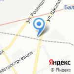 Импульс на карте Санкт-Петербурга