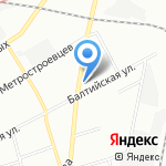 Облицовочные и строительные материалы на карте Санкт-Петербурга