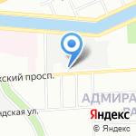 Храм преподобномученика Андрея Критского на карте Санкт-Петербурга
