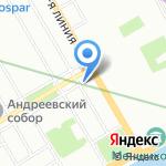 Энтерпрайз Энерго на карте Санкт-Петербурга