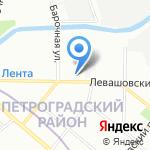Метропаркинг на карте Санкт-Петербурга