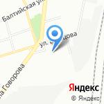 Сытый Барин на карте Санкт-Петербурга