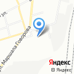 МФК на карте Санкт-Петербурга