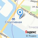 Форма на карте Санкт-Петербурга