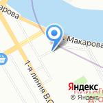 Accent на карте Санкт-Петербурга