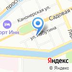 Жилкомсервис №1 Адмиралтейского района на карте Санкт-Петербурга
