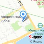 Школа независимости В.В. Новиковой на карте Санкт-Петербурга