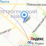Клуб Российская Ювелирная Торговля на карте Санкт-Петербурга