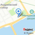 Книжная лавка на карте Санкт-Петербурга