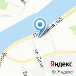 Управление вневедомственной охраны на карте Санкт-Петербурга