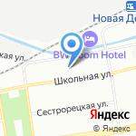 Гимназия №631 с углубленным изучением английского языка на карте Санкт-Петербурга