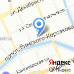 Балтийское Агентство Логистики и Транспорта на карте Санкт-Петербурга