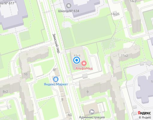 Товарищество собственников жилья «Оптимум» на карте Санкт-Петербурга