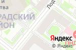 Схема проезда до компании Международный общественный Фонд культуры и образования в Санкт-Петербурге
