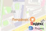 Схема проезда до компании Спортивный на Декабристов в Санкт-Петербурге