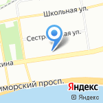 Юникредит банк на карте Санкт-Петербурга