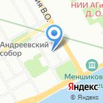 СпасИнвест на карте Санкт-Петербурга