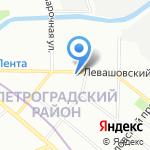 Алфавит на карте Санкт-Петербурга