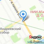 Альфа Василеостровский на карте Санкт-Петербурга