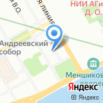 Ай-Сервис на карте Санкт-Петербурга