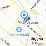 Магазин аксессуаров к мобильным телефонам на карте Санкт-Петербурга