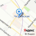 Нотариус Александрова Т.Г. на карте Санкт-Петербурга