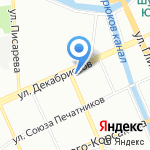 Кошер на карте Санкт-Петербурга