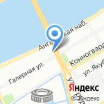 224-й гарнизонный военный суд на карте Санкт-Петербурга