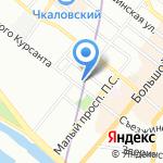 Географическое Бюро на карте Санкт-Петербурга