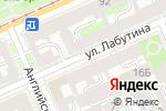 Схема проезда до компании ЛИК в Санкт-Петербурге
