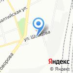 Атха на карте Санкт-Петербурга